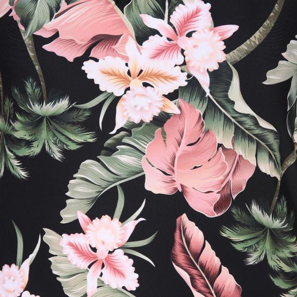 Damen Tankini Top mit Blüten