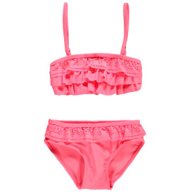 Mädchen Bikini im Neonlook