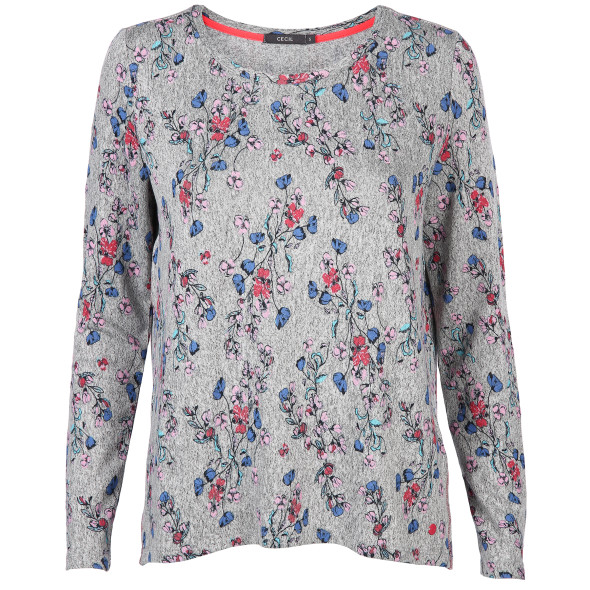 Damen Shirt mit Blumenprint