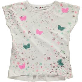 Mädchen Shirt mit Schmetterlingprint
