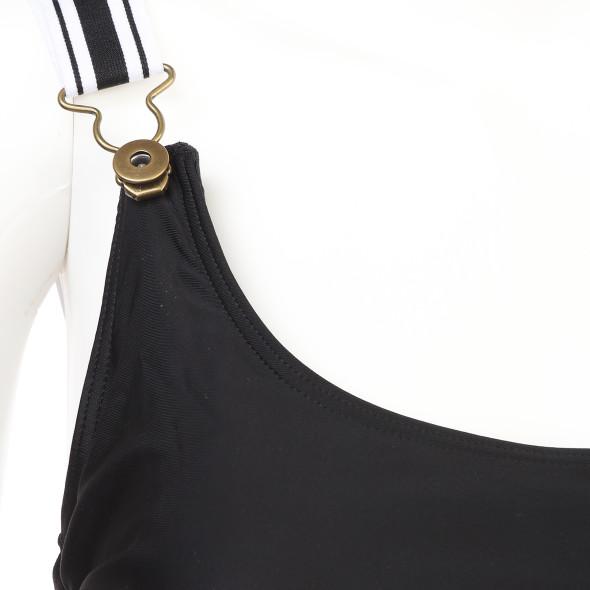 Damen Badeanzug mit breiten Trägern