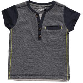 Jungen Shirt mit Knopfleiste