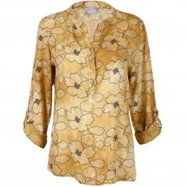 Damen Bluse mit floralem Print