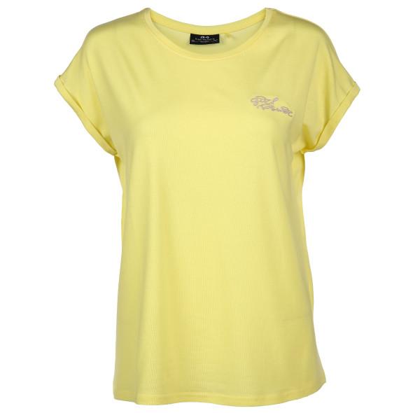 Damen Shirt mit zarter Stickerei