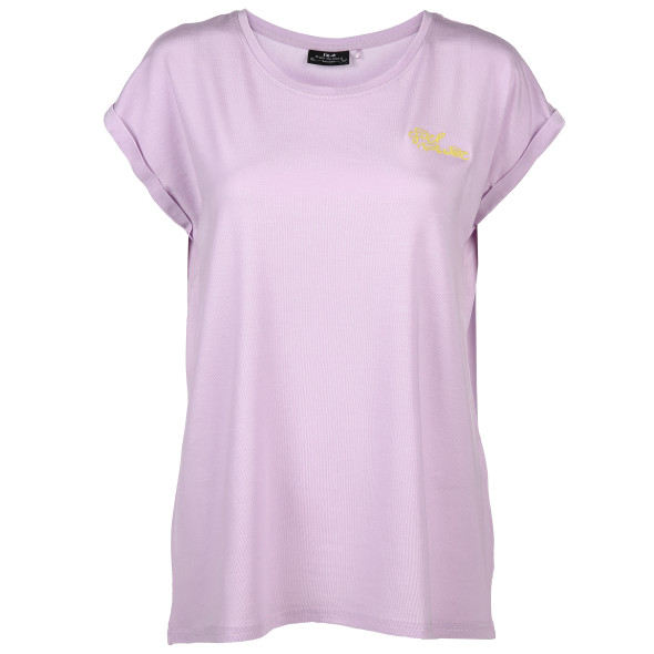 Damen Shirt mit zarter Stickerei