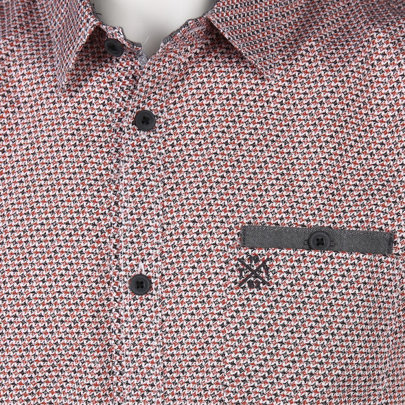 Herren Hemd im Minimalprint