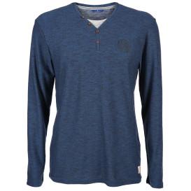 Herren T-Shirt in 2 in 1 Optik