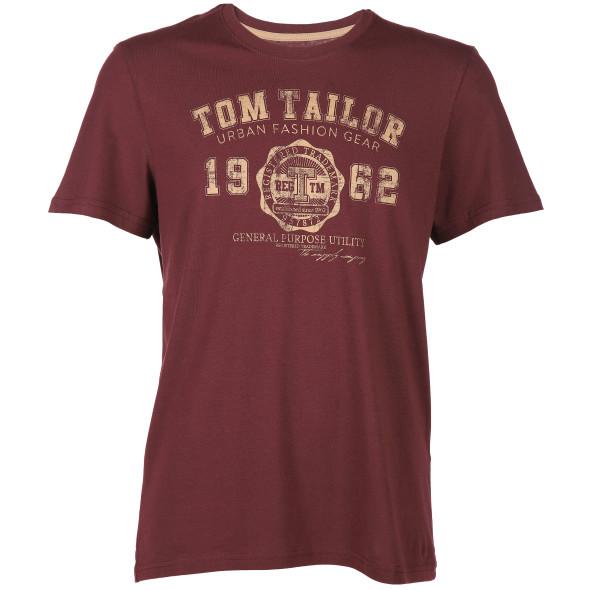 Herren T-Shirt mit Logoprint