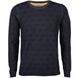 Herren Pullover mit schlichtem Muster