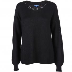 Damen Pullover mit Glitzersteinchen