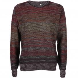 Herren Strick Pullover mit effektvollem Muster