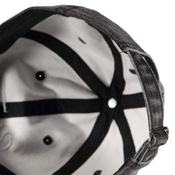 Herren Baseball Cap in gewaschener Optik