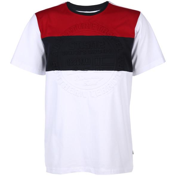 Herren T-Shirt mit tonigem Print