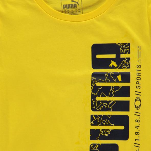 Kinder Sport Shirt mit Logoprint