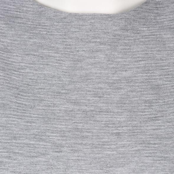 Damen Sweatshirt in Ripp Optik mit Glitzereffekt