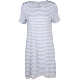 Damen Nachthemd mit Spitzenbesatz