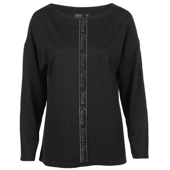 Damen Shirt mit Glitzernieten