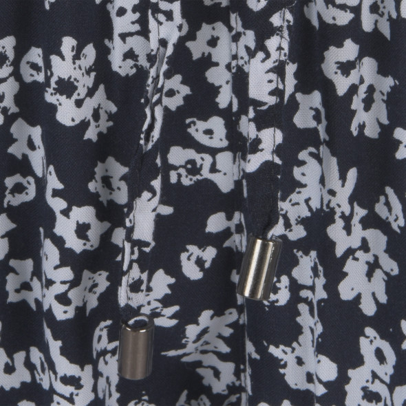 Damen Flatterhose mit Minimalprint
