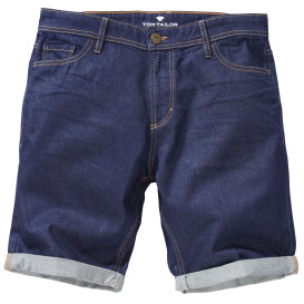 Herren Jeans Short im 5 Pocket-Stil