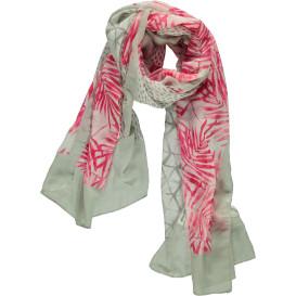 Damen Schal mit effektvollem Print