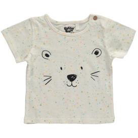 Baby Mädchen Shirt mit Bärengesicht