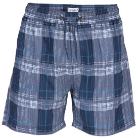 Herren Badehose in karierter Optik