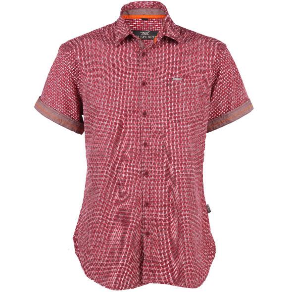 Herren Freizeithemd im Minimalprint