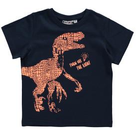 Jungen Shirt mit leuchtendem Print