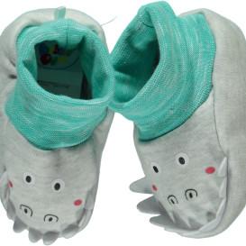 Baby Jungen Hausschuhe mit Krokodilmotiv