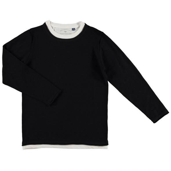 Kinder Pullover in 2 in 1 Optik