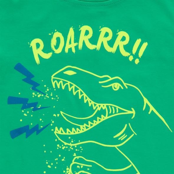 Jungen T-Shirt mit leuchtendem Print