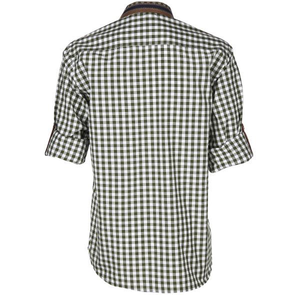 Herren Trachtenhemd mit vielen Details