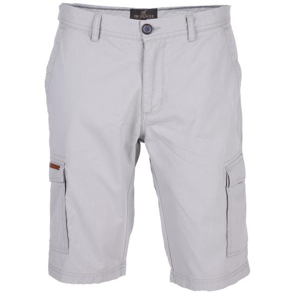 Herren Cargo Shorts mit Minimalprint