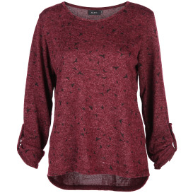 Damen Shirt im Flausch-Look