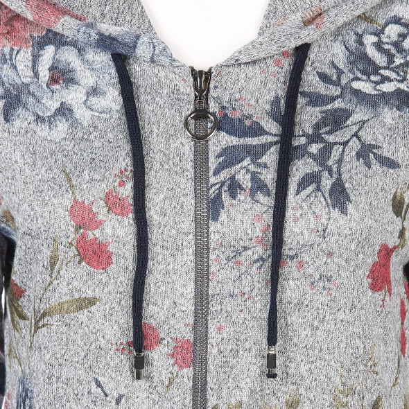 Damen Cardigan mit floralem Print