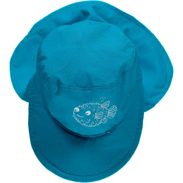 Baby Mütze mit Nackenschutz