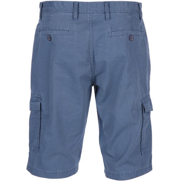 Herren Cargo Shorts im Minimalprint