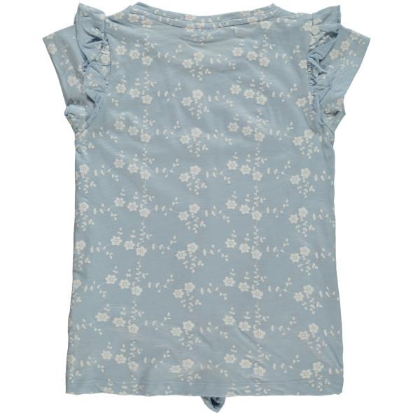 Mädchen Shirt mit Knotendetail