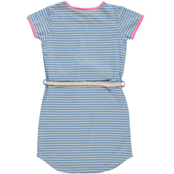Mädchen Kleid mit Gürtel