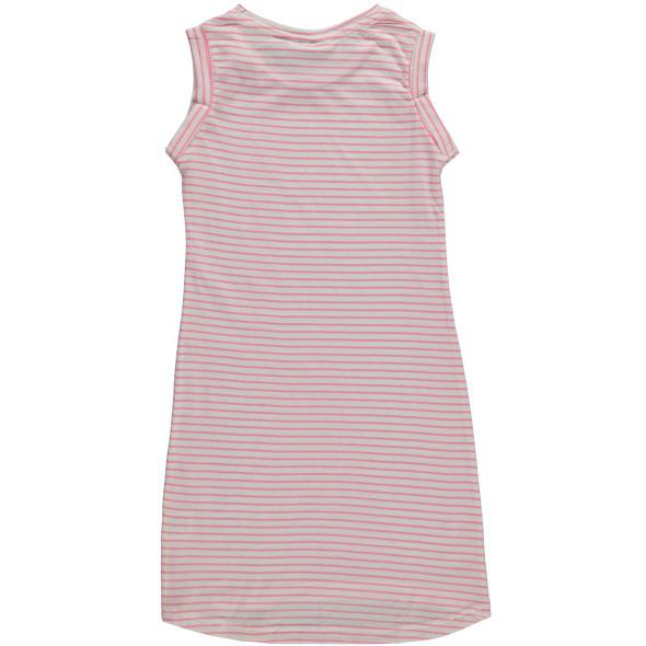 Mädchen Kleid mit Streifen