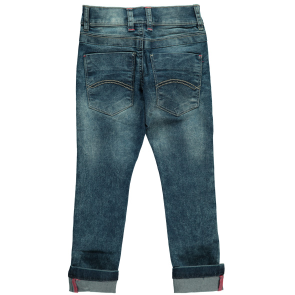 Mädchen Jeans mit Neondetails