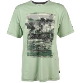 Herren T-Shirt mit großem Print