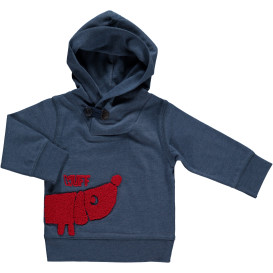 Jungen Sweatshirt mit Print und Kapuze