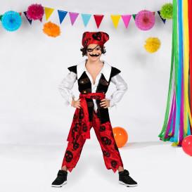 Jungen Piraten Kostüm Set