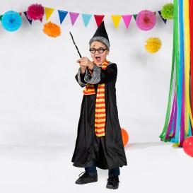 Jungen Magier Kostüm Set