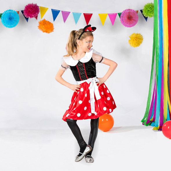 Mädchen Minnie Mouse Kostüm Set