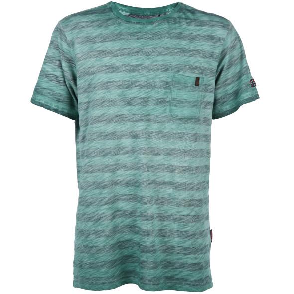 Herren Shirt im Streifendesign