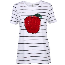 Only ONLKITA REG S/S APPLE Shirt