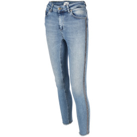 Damen Only Jeans BLUSH mit Galonstreifen