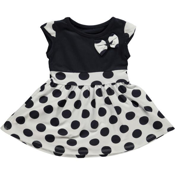 Baby Mädchen Kleid mit Punkten